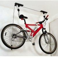 Ceiling-Mounted Bike Lift  Petagadget