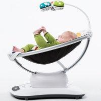 Plush mamaRoo Bouncer Seat by 4moms  Petagadget