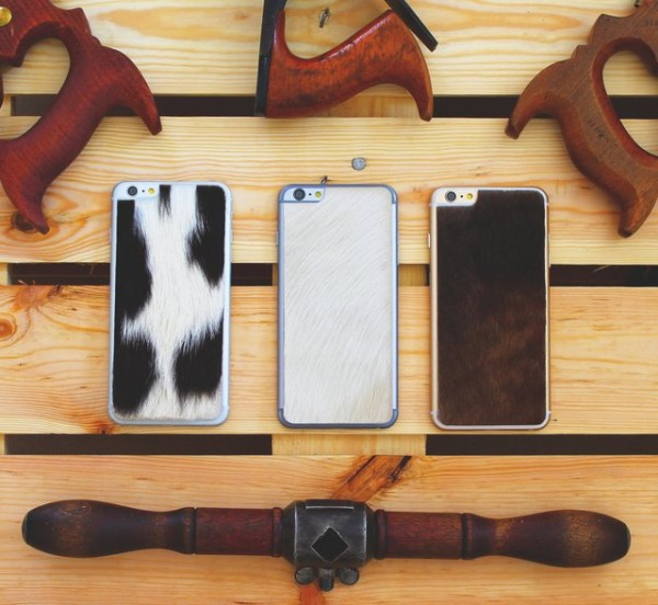 Handcrafted Calf Hair iPhone 6 Plus Skin