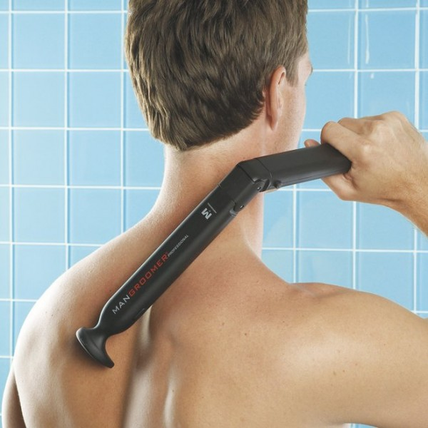 Electric Back Hair Shaver