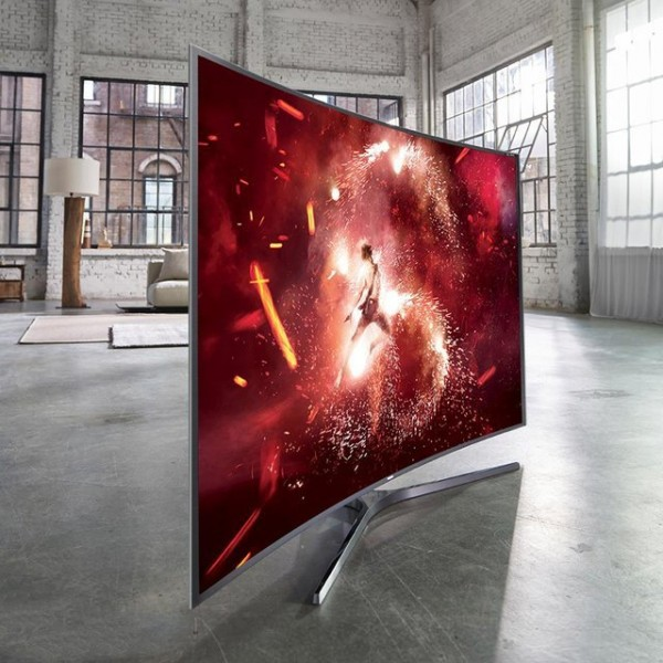 Samsung SUHD Curved Smart LED TV