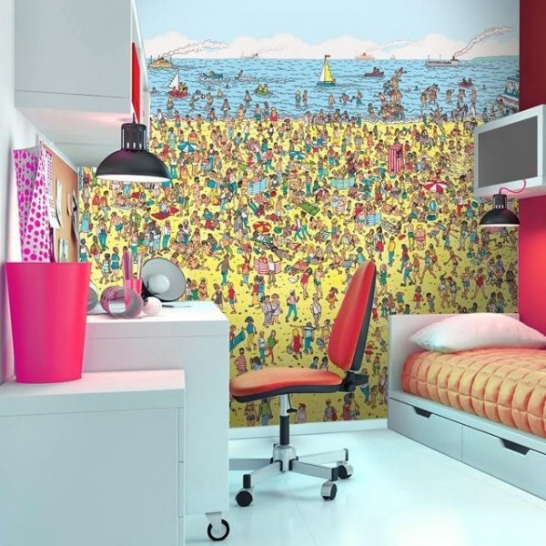 Sublime gadgets where s wally beach wall mural sublime for Beach scene mural wallpaper