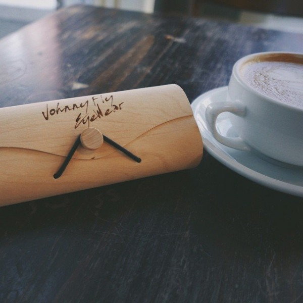 Wooden Eyewear Case by Johnny Fly