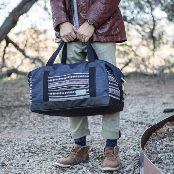 Denim Relay Duffle Bag by HEX