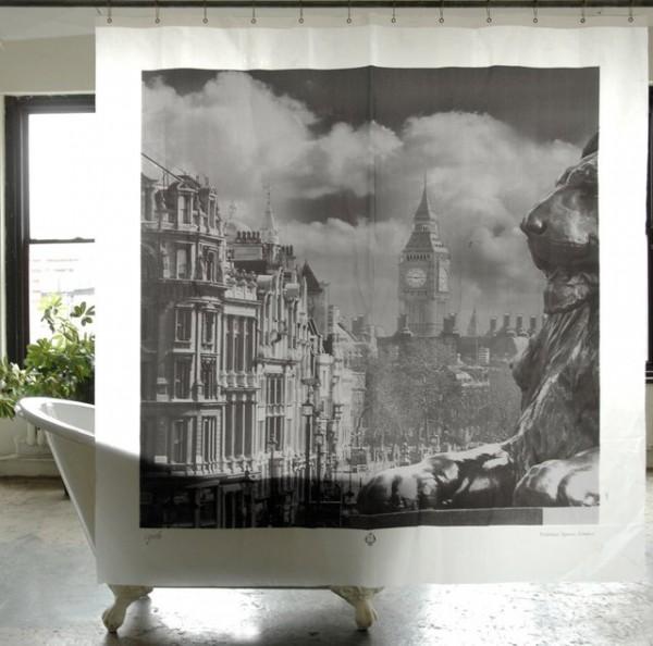 Trafalgar Square London Shower Curtain