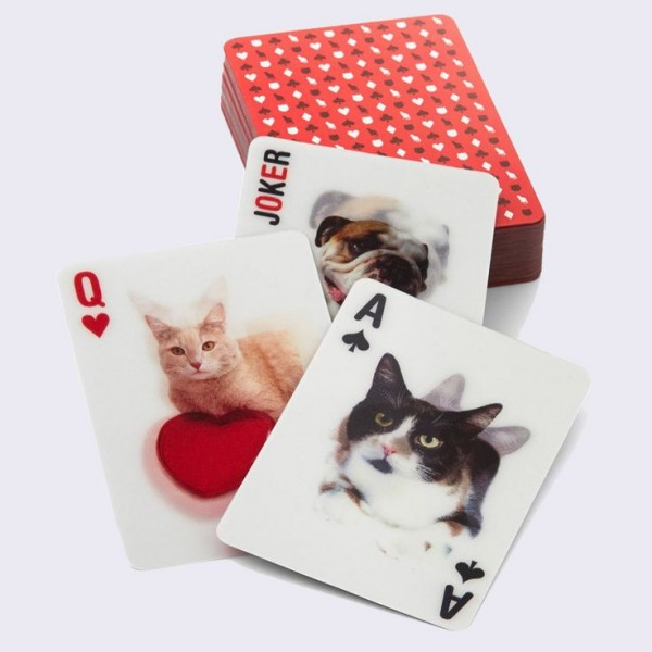 Cat Playing Cards by Kikkerland