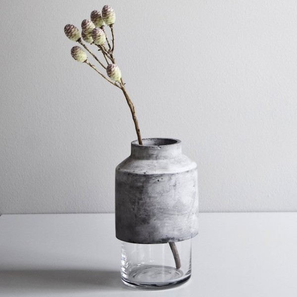 Willmann Concrete Vase by Menu