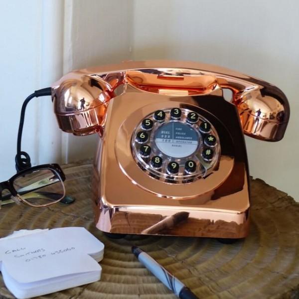 Copper Telephone