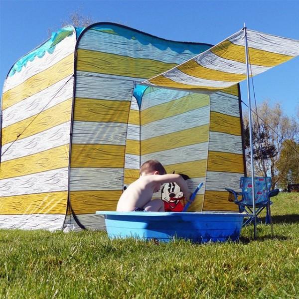 The Olpro Yellow Beach Hut