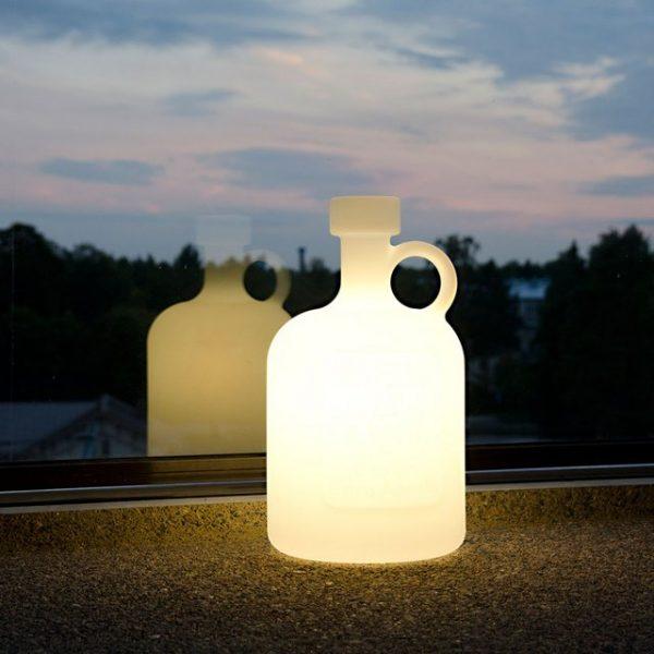 Bottle Of Light Table Lamp