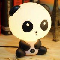 Panda Bear Bedside Lamp  Petagadget