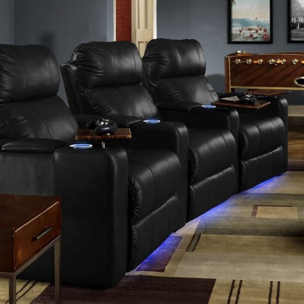 Seatcraft Audio Vibration SoundShaker Venetian Home Theater Chairs