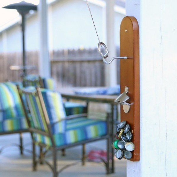 Hook & Ring Game With Bottle Opener
