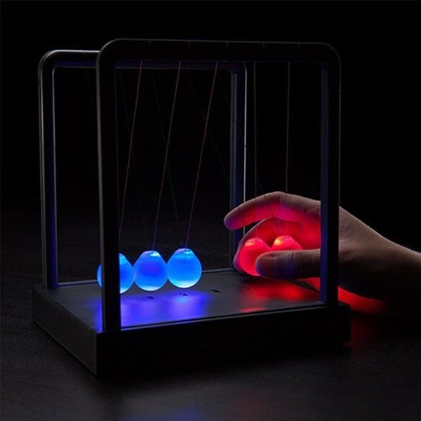 Newton's Cradle LED Balance Ball