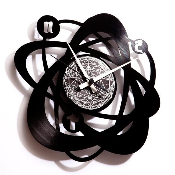 Atomium Vinyl Wall Clock