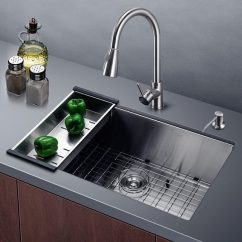 30 Kitchen Sink Moen Faucet Pull Out Harrahs Inch Commercial Stainless Steel Petagadget