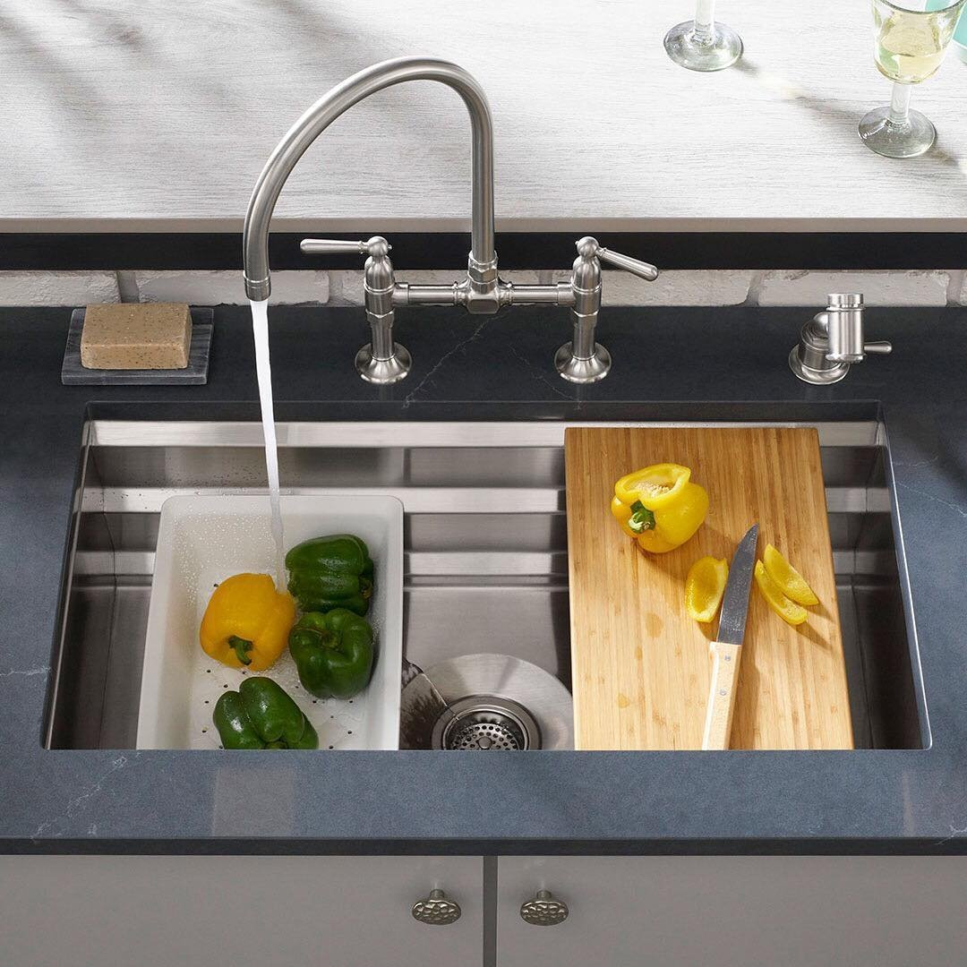 42 inch kitchen sink vanities kohler prolific undermount » petagadget