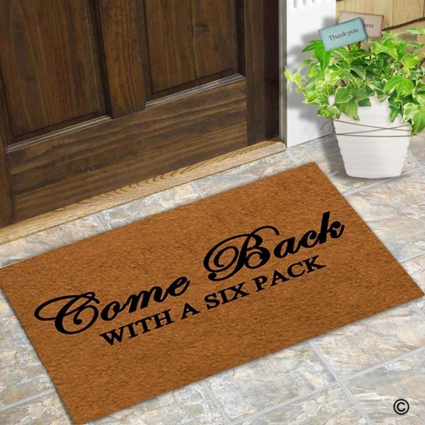 Door Mat Come Back
