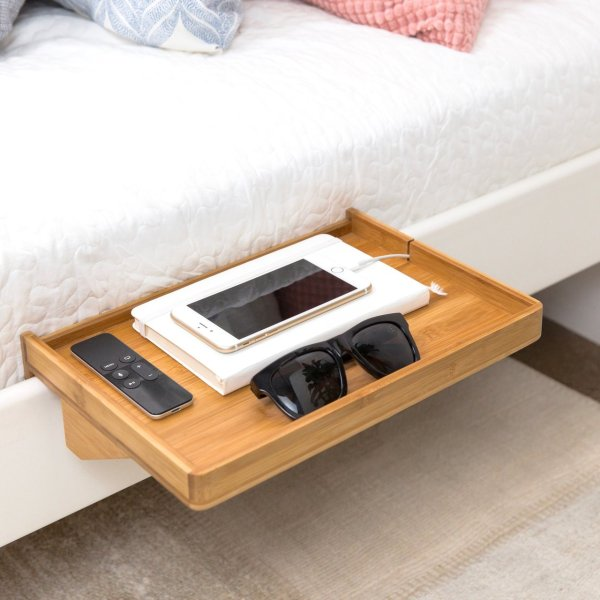 Bedshelfie Minimalist Nightstand Petagadget