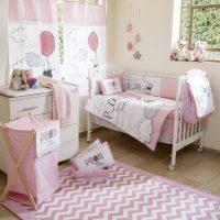 Disney Pink Winnie The Pooh Play Crib Bedding Set  Petagadget