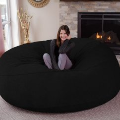 What Size Bean Bag Chair Do I Need Cheap Upholstered Chairs Chill Sack Giant 8 39 Memory Foam Furniture