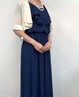 おしゃれコンシャスのドレス着用画像