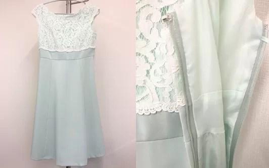 マナマナドレスでレンタルしたドレス