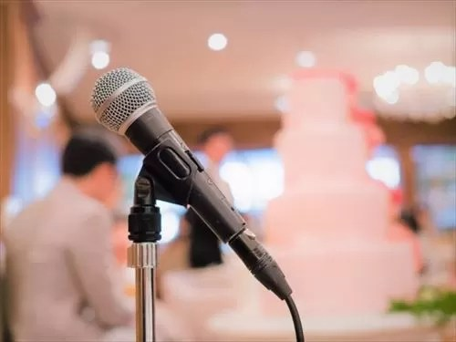 結婚式のスピーチイメージ画像