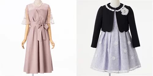 ママとキッズのドレス