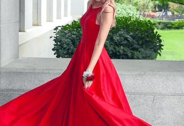 オケージョン用のドレス