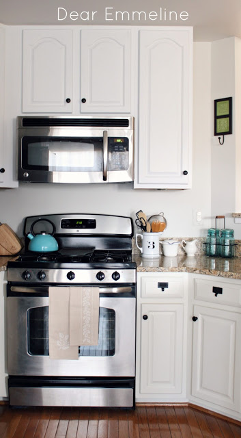 kitchen cabinet redo chromcraft chairs redo: part five {painting the cabinets with nuvo ...