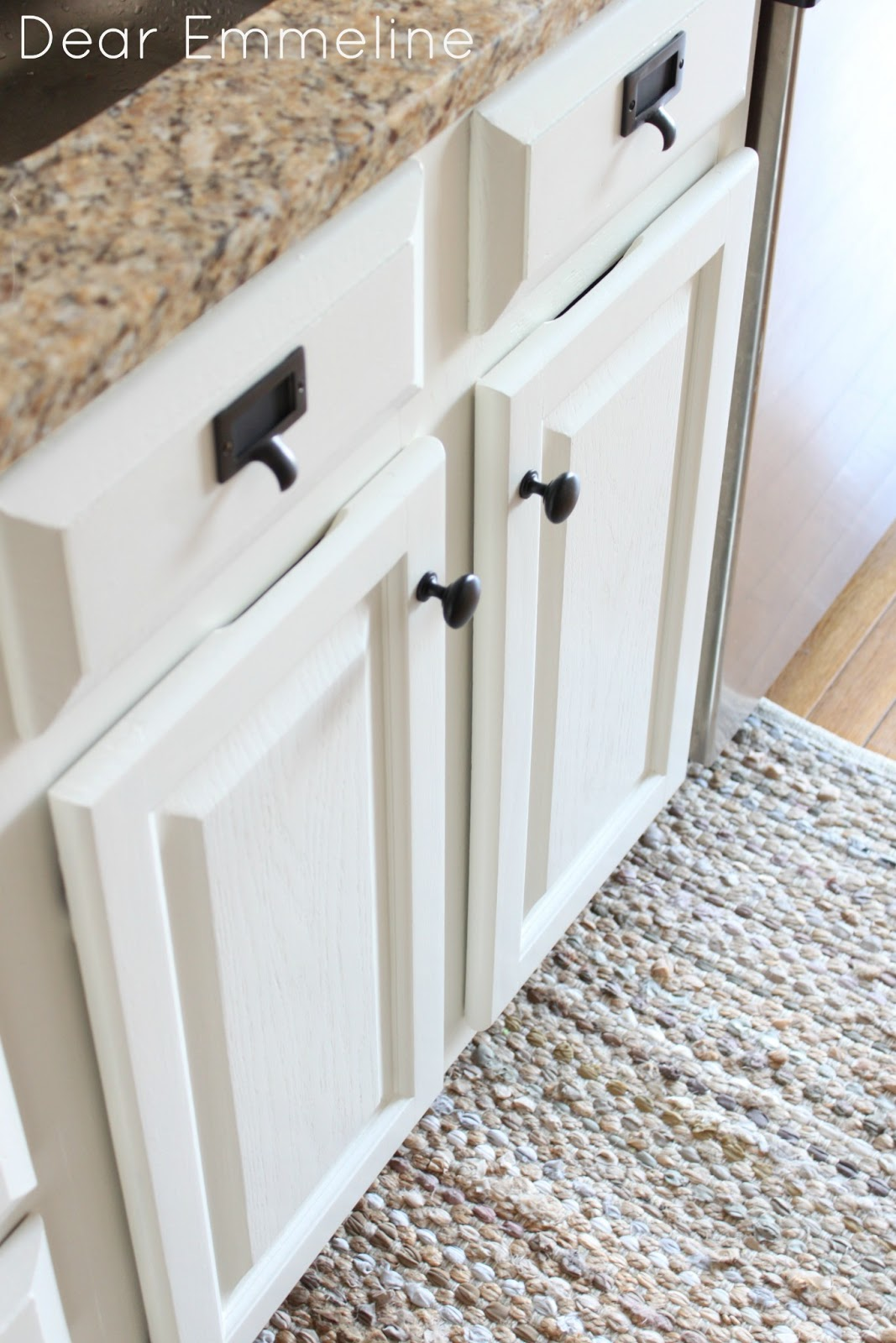 kitchen cabinet redo white table redo: part five {painting the cabinets with nuvo ...