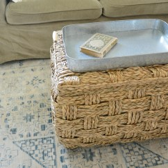 Slip Cover Chair And A Half Thomas Tank Table Chairs Eclectic Botanical Farmhouse Family Room Reveal |one Challenge™ Week 6