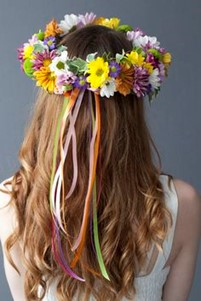 Momosa Mother's Day Floral Crown
