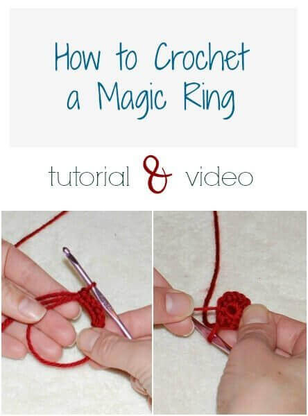 Learning how to crochet a magic ring can really improve the look of projects that are worked in the round. Video and photos to guide you through ...