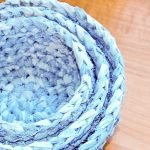Crochet Fabric Nesting Baskets Pattern