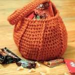 Halloween Pumpkin Trick or Treat Bag Crochet Pattern