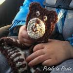 Bear Lovey and Applique Pattern