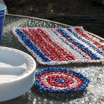 Plarn Place Mats and Coasters