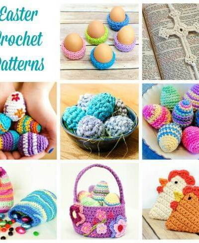 Easter Crochet Patterns Roundup