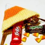 candy corn treat bag crochet pattern