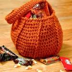 Halloween Pumpkin Trick or Treat Bag Crochet Pattern