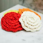 Flower Facial Scrubbies