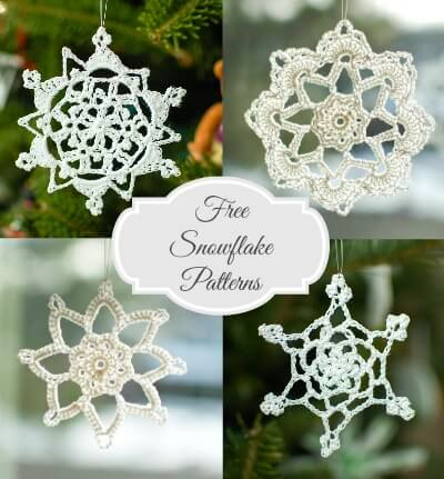 Free snowflake crochet patterns petals to picots free snowflake crochet patterns dt1010fo