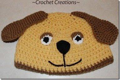 Puppy Dog Hat Pattern