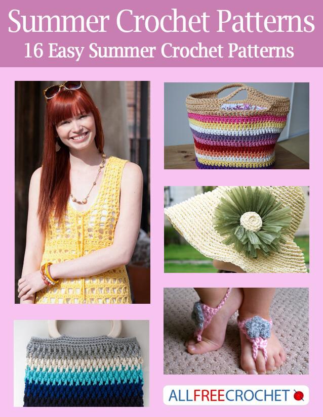 Summer Crochet Patterns – Free eBook | Petals to Picots
