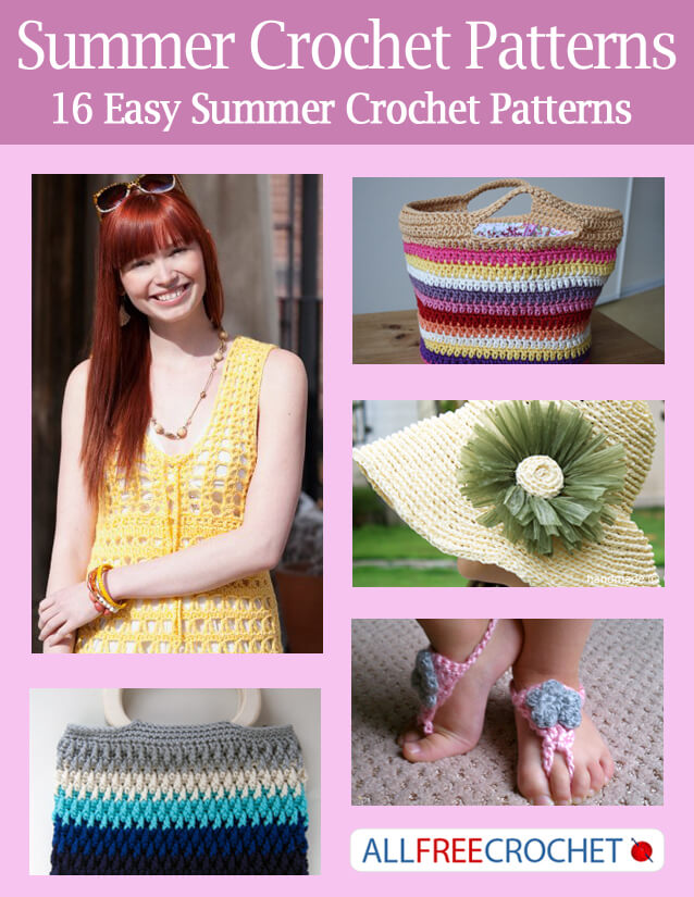 Summer Crochet Patterns – Free eBook #crochet