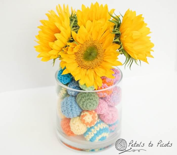 Crochet Ball Centerpiece