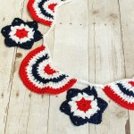 Star Spangled Banner Crochet Bunting