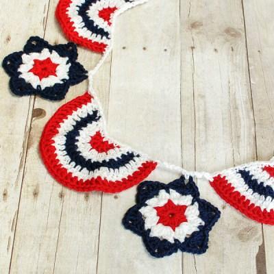 Star Spangled Banner Crochet Pattern